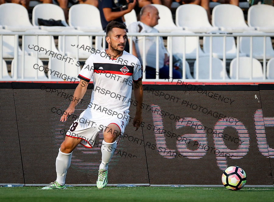 Fudbal Super League Season 2017-2018<br /> Partizan v Macva (Sabac)<br /> Marko Rajovic<br /> Beograd, 22.07.2017.<br /> foto: Srdjan Stevanovic/Starsportphoto &copy;