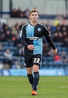 Jason McCarthy of Wycombe Wanderers during the Sky Bet League 2 match between Wycombe Wanderers and Leyton Orient at Adams Park, High Wycombe, England on 23 January 2016. Photo by Andy Rowland / PRiME Media Images.