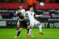 Connor Roberts of Swansea City in action during the Sky Bet Championship match between Swansea City and Charlton Athletic at the Liberty Stadium in Swansea, Wales, UK.  Thursday 02 January 2020