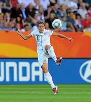 Alex Krieger of team USA during the FIFA Women's World Cup at the FIFA Stadium in Dresden, Germany on June 28th, 2011.