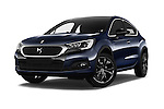 Stock pictures of low aggressive front three quarter view of 2016 Ds DS-4-Crossback Sport-Chic 5 Door Hatchback Low Aggressive
