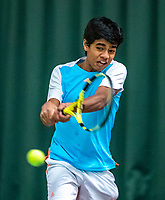 Wateringen, The Netherlands, December 4,  2019, De Rhijenhof , NOJK 14 and18 years, Samarth Gubbala (NED)<br /> Photo: www.tennisimages.com/Henk Koster