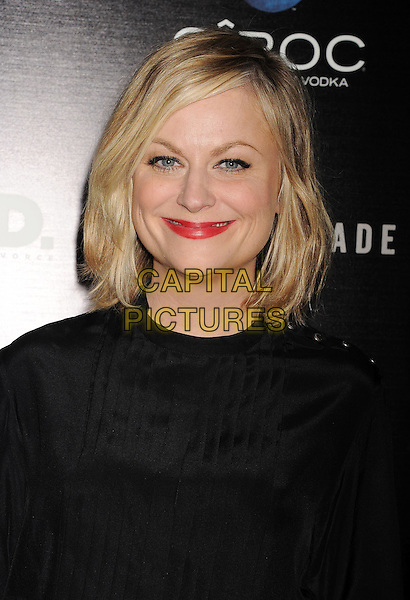 Amy Poehler <br /> arrives at the Los Angeles Premiere of &quot;A.C.O.D.&quot; at the Landmark Theater in Los Angeles, California, USA, September 26th 2013. <br /> portrait headshot red lipstick makeup beauty black <br /> CAP/ROT/TM<br /> &copy;TM/Roth Stock/Capital Pictures