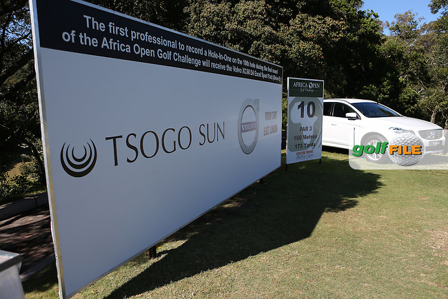 View of the back of the 10th tee during Round Three of the Africa Open 2015 at the East London Golf Club, East London, Eastern Cape, South Africa. Picture:  David Lloyd / www.golffile.ie. 07/03/2015