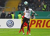 Danny da Costa (Eintracht Frankfurt) - 07.02.2018: Eintracht Frankfurt vs. 1. FSV Mainz 05, DFB-Pokal Viertelfinale, Commerzbank Arena