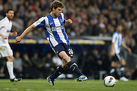 24.03.2012 SPAIN -  La Liga matchday 30th  match played between Real Madrid CF vs Real Sociedad (5-1) at Santiago Bernabeu stadium. The picture show Asier Illarramendi Andonegi (Midfielder of Real Sociedad)