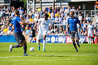 Leroy Fer of Swansea City  during the Pre Season friendly match between Swansea City and Rovers played at the Memorial Stadium, Bristol on July 23rd 2016