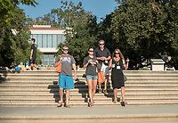 Occidental College celebrates Homecoming and Family Weekend on Saturday, Oct. 14, 2017 at Oswald's Homecoming Party in the Academic Quad, featuring games, activity booths, a pub and food.<br /> (Photo by Marc Campos, Occidental College Photographer)
