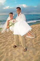 Wedding on the beach in Hawaii