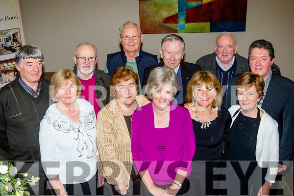 Socialising<br /> ---------------<br /> Members of Kerry Vintage, Veteren and classic car club enjoying a social evening in the Ballyroe Heights hotel, Tralee, Front L-T Eileen Cantillon, Mary Harty, Marie Lynch, Kay Moloney and Barbra Welsh, back L-R Ger McElligott, Mike Lynch, Mike Moloney, Fran Cantillon, Mike Harty and Maurice Welsh.
