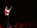 Cheyenne Jackson performs at Town Hall