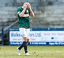 Hib's Dylan McGeouch at the end of the game.
