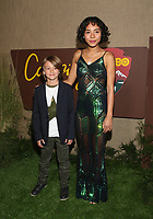 HOLLYWOOD, CA - OCTOBER 10: Duncan Joiner, Cheyenne Haynes, at The Los Angeles Premiere of HBO's Camping at Paramount Studios in Hollywood, California on October 10, 2018. Credit: Faye Sadou/MediaPunch
