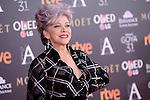 Luisa Gavasa attends to the Red Carpet of the Goya Awards 2017 at Madrid Marriott Auditorium Hotel in Madrid, Spain. February 04, 2017. (ALTERPHOTOS/BorjaB.Hojas)