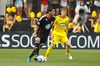 26 JUNE 2010:  during MLS soccer game between DC United vs Columbus Crew at Crew Stadium in Columbus, Ohio on May 29, 2010. The Crew defeated DC United 2-0.