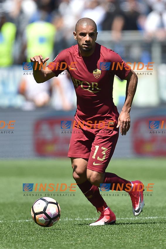 Bruno Peres Roma <br /> Roma 30-04-2017 Stadio Olimpico Football Calcio Serie A 2016/2017 AS Roma - Lazio Foto Andrea Staccioli / Insidefoto