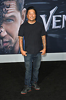 "LOS ANGELES, CA. October 01, 2018: Roy Choi at the world premiere for ""Venom"" at the Regency Village Theatre.<br /> Picture: Paul Smith/Featureflash"