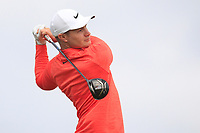 Oliver Fisher (ENG) on the 2nd tee during Round 1 of the Dubai Duty Free Irish Open at Ballyliffin Golf Club, Donegal on Thursday 5th July 2018.<br /> Picture:  Thos Caffrey / Golffile