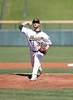 Logan Shore - Mesa Solar Sox - 2017 Arizona Fall League (Bill Mitchell)