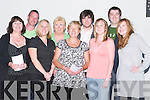 WINNERS: Winners on the night at the dogs at Kingdom Greyhound Stadium, Tralee, on Friday. Front l-r: Eileen McCarthy, Sarah Lyons, Noreen Lyons, Mary Keogh and Liz Nield. Back l-r: Robert Hynan, Nora Stack, Stephen McCarthy and James McCarthy..