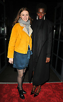 guest and Sheila Atim at the &quot;Girl From The North Country&quot; press night, Noel Coward Theatre, St Martin's Lane, London, England, UK, on Thursday 11 January 2018.<br /> CAP/CAN<br /> &copy;CAN/Capital Pictures