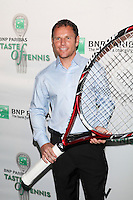 Tennis player Michael Russell attends the 13th Annual 'BNP Paribas Taste of Tennis' at the W New York.  New York City, August 23, 2012. © Diego Corredor/MediaPunch Inc. /NortePhoto.com<br />