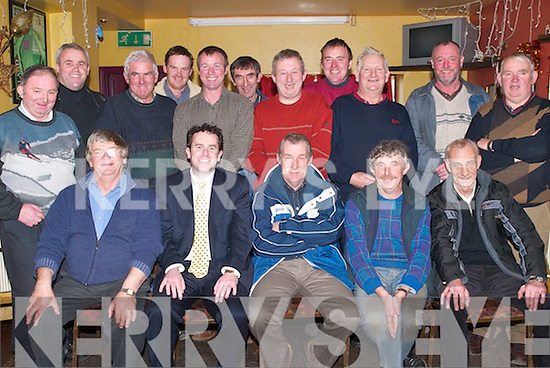 BREAK: County Council staff who finished work on Friday 22nd December 2006 until the New Year and held their Christmas dinner at Kirbys Brogue Inn, Tralee. Front l-r: Sean P Diggin, John Fitzgerald, John O'Callaghan, Peter Flaherty and Paddy Scannell. Back l-r: Tim O'Connor, Sean Daughton, Nelius Reidy, Brendan Flahive, Michael Dunne, Barney Murphy, Maurice Guerin, John Hoffman, Tim Quirke, Jerry Curtin and Der Flynn.