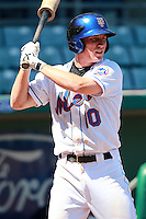 New York Mets minor league shortstop Robbie Shields (10) during a game vs. the Minnesota Twins in an Instructional League game at City of Palms Park in Fort Myers, Florida;  October 4, 2010.  Photo By Mike Janes/Four Seam Images