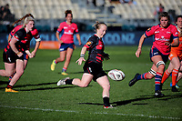 Action from the Farah Palmer Cup women's provincial rugby match between Canterbury and Tasman at AMI Stadium in Christchurch, New Zealand on Saturday, 30 September 2017. Photo: Martin Hunter / lintottphoto.co.nz