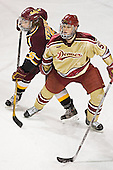 Matt Verdone, Andrew Thomas - The Ferris State Bulldogs defeated the University of Denver Pioneers 3-2 in the Denver Cup consolation game on Saturday, December 31, 2005, at Magness Arena in Denver, Colorado.