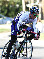 Penn State's Jeffrey Miller during the Men's D Criterium race at the Nittany Cycling Classic hosted by Penn State Cycling in State College, Pa., on April 20, 2014. Photo/©2014 Craig Houtz