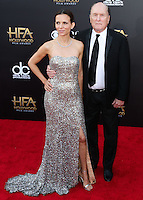 HOLLYWOOD, LOS ANGELES, CA, USA - NOVEMBER 14: Luciana Pedraza, Robert Duvall arrive at the 18th Annual Hollywood Film Awards held at the Hollywood Palladium on November 14, 2014 in Hollywood, Los Angeles, California, United States. (Photo by Xavier Collin/Celebrity Monitor)