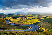 A Road leading somewhere in Tuscany, Italy