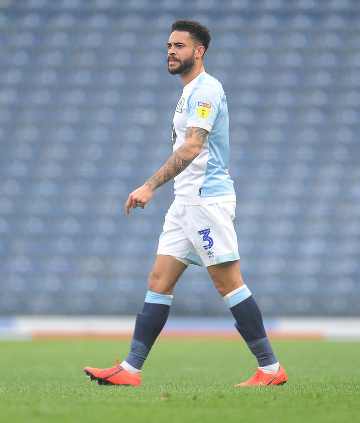 Blackburn Rovers' Derrick Williams<br /> <br /> Photographer Kevin Barnes/CameraSport<br /> <br /> The EFL Sky Bet Championship - Blackburn Rovers v Bolton Wanderers - Monday 22nd April 2019 - Ewood Park - Blackburn<br /> <br /> World Copyright © 2019 CameraSport. All rights reserved. 43 Linden Ave. Countesthorpe. Leicester. England. LE8 5PG - Tel: +44 (0) 116 277 4147 - admin@camerasport.com - www.camerasport.com