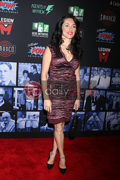 """Mirelly Taylor<br /> at """"Excelsior! A Celebration of the Amazing, Fantastic, Incredible & Uncanny Life of Stan Lee,"""" TCL Chinese Theater, Hollywood, CA 01-30-19<br /> David Edwards/DailyCeleb.com 818-249-4998"""