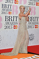 Rita Ora arrives for the BRIT Awards 2015 at the O2 Arena, London. 25/02/2015 Picture by: Steve Vas / Featureflash