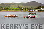 Action from the start of the Minor Ladies race at OTW Regatta on Sunday with Sive taking an early lead.