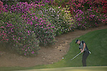 AUGUSTA, GA: APRIL 11 - Rory Mcilroy of Northern Ireland on #13 during the second round of the 2014 Masters held in Augusta, GA at Augusta National Golf Club on Friday, April 11, 2014. (Photo by Donald Miralle)