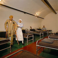 Great Britain, England, Channel Islands, Jersey: German Underground Hospital at Meadowbank, Les Charrieres Malorey, St Lawrence, A Chilling Reminder of World War II | Grossbritannien, England, Kanalinseln, Jersey: German Underground Hospital in Meadowbank, Les Charrieres Malorey, St Lawrence