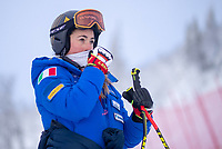 04 02 2019 Are SWE FIS World Championships Alpine Skiing Women Downhill 1 Training in picture Sofia Goggia ITA Sofia Goggia of Italy during 1st Ladies Downhill Training of the FIS Ski Alpine World Championships 2019 in Are Sweden on 2019 02 04 <br /> Photo Eibner-Pressefoto/EXPA/Groder/Imago/Insidefoto<br /> ITALY ONLY
