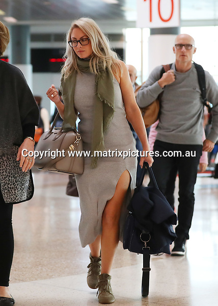 14 SEPTEMBER 2016 SYDNEY AUSTRALIA<br /> WWW.MATRIXPICTURES.COM.AU<br /> <br /> EXCLUSIVE PICTURES<br /> <br /> Bachelor finalist Nikki Gogan pictured on arrival into Sydney. <br /> <br /> *No internet without clearance*.<br /> <br /> MUST CALL PRIOR TO USE <br /> <br /> +61 2 9211-1088. <br /> <br /> Matrix Media Group.Note: All editorial images subject to the following: For editorial use only. Additional clearance required for commercial, wireless, internet or promotional use.Images may not be altered or modified. Matrix Media Group makes no representations or warranties regarding names, trademarks or logos appearing in the images.