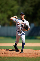 Detroit Tigers pitcher Jesus Rodriguez (72) delivers a pitch during an Instructional League game against the Atlanta Braves on October 10, 2017 at the ESPN Wide World of Sports Complex in Orlando, Florida.  (Mike Janes/Four Seam Images)