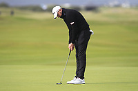 Matthew Southgate (ENG) on the 16th green during Round 4 of the Alfred Dunhill Links Championship 2019 at St. Andrews Golf CLub, Fife, Scotland. 29/09/2019.<br /> Picture Thos Caffrey / Golffile.ie<br /> <br /> All photo usage must carry mandatory copyright credit (© Golffile | Thos Caffrey)