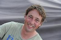 ZEILEN: FRYSLAN: SKS Skûtsjesilen 2015, Schipper Teake Klaas van der Meulen Skûtsje Woudsend, ©foto Martin de Jong