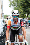 Race leader World Champion Alejandro Valverde (ESP) Movistar Team before Stage 2 of the Route d'Occitanie 2019, running 187.7km from Labruguière to Martres-Tolosane, France. 21st June 2019<br /> Picture: Colin Flockton | Cyclefile<br /> All photos usage must carry mandatory copyright credit (© Cyclefile | Colin Flockton)
