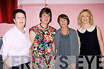 Betty Moynihan, Joan collins, Eileen Buckley, and Janet Sheehan at the fashion show in aid of the Children of Chernobyl at Rathmore Community Centre on Thursday night