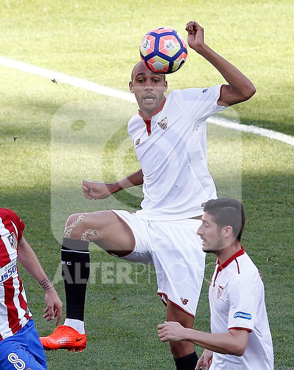 Sevilla FC's Steven N'Zonzi during La Liga match. March 19,2017. (ALTERPHOTOS/Acero)