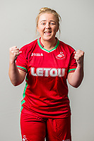 Wedensday 26 July 2017<br />Pictured: Lauren Hancock<br />Re: Swansea City Ladies Squad 2017- 2018 at the Liberty Stadium, Wales, UK