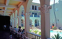 Julia Morgan: Y.W.C.A. Court, Swimming pool. Honolulu.