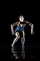 "London, UK. 28/10/2011. Clod Ensemble present ""An Anatomie in Four Quarters"" at Sadler's Wells. Dancers: Zoe Bywater, Mariana Camiloti, Valentina Golfieri, Laura de Vos, Silvia Mercuuriali, Matthew Morris, Pari Naderi, Ramona Nagabczynska, Yuyu Rau, Ino Riga, Owen Ridley-DeMonick, Alessandra Ruggeri.Pictured: Ino Riga. Photo credit: Jane Hobson"